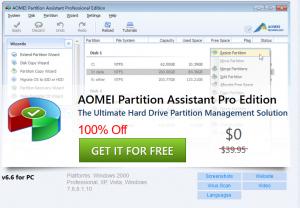 AOMEI Partition Assistant 9.2 Crack